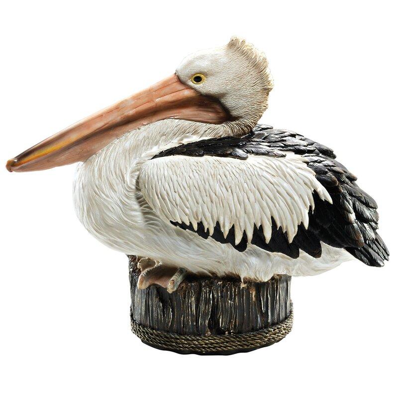 Design Toscano Dock Of The Bay Pelican Statue Amp Reviews