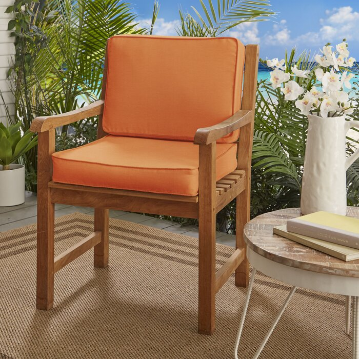 Indoor Outdoor Lounge Chair Cushion Reviews Birch Lane
