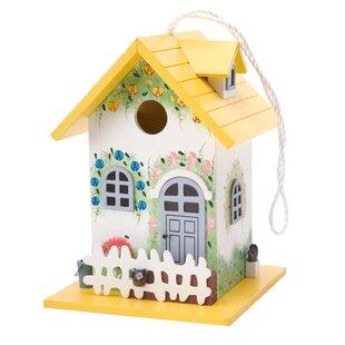 Colorful Cottage 975 X 7 Birdhouse