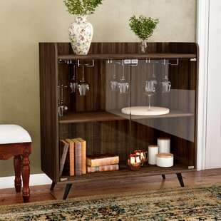 Octavio Gl Door Bar Cabinet