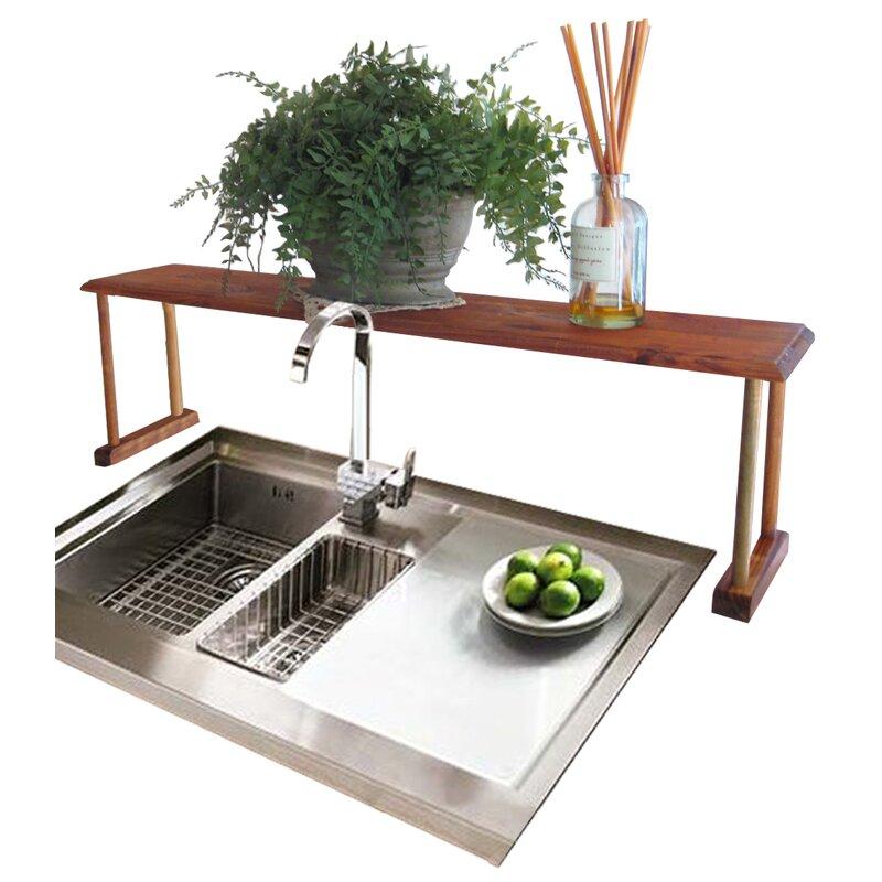 Unique Home Basics Sunbeam Over Sink Shelf & Reviews   Wayfair AH74