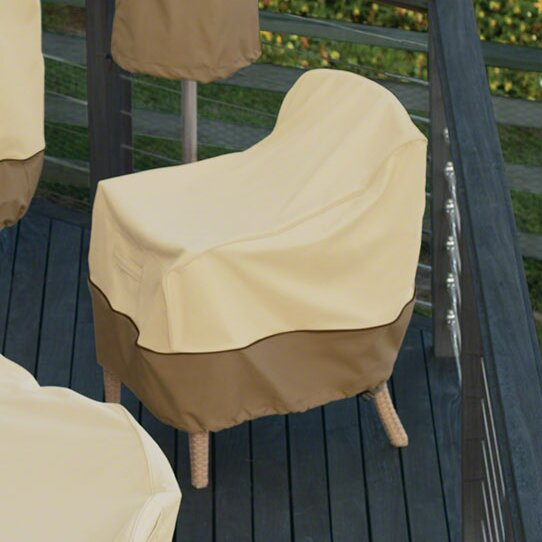Fabulous Donahue Water Resistant Patio Chair Cover Download Free Architecture Designs Scobabritishbridgeorg