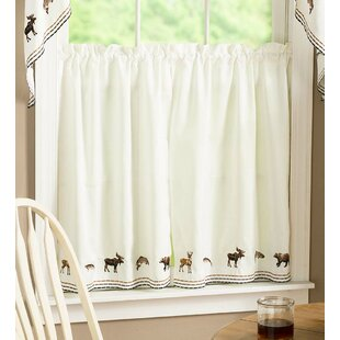 Cafe Curtains Youll Love Wayfair - Cafe curtains for living room