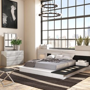 Modern King White Bedroom Sets | AllModern