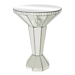 Mirrored Side Table by Sterling Industries