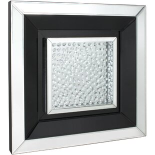 215de9fdb69 Winston Floating Crystal Square Wall Mirror
