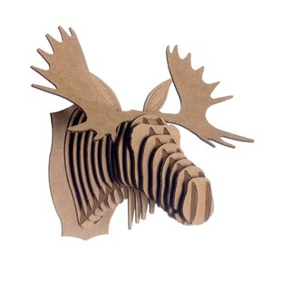 Fred The Moose Head Wall Décor