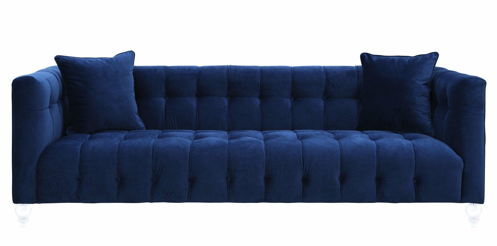 Chesterfield Sofas mercer41 kittrell chesterfield sofa reviews wayfair