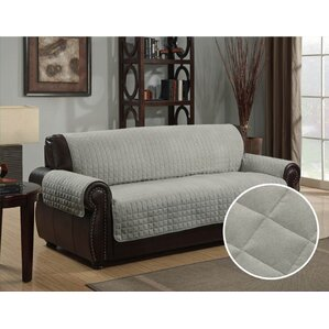 Box Cushion Sofa Slipcover by Andover Mills