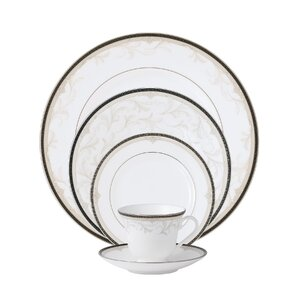 Brocade Bone China 5 Piece Place Setting, Service for 1