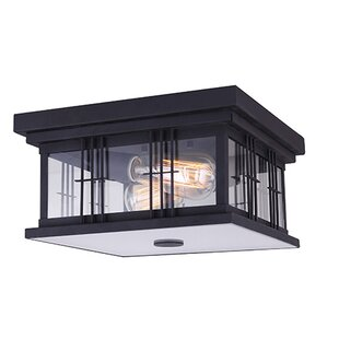 Outdoor flush mount lights youll love barnesbury 2 light outdoor flush mount workwithnaturefo