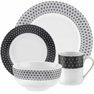 Retrospect 16 Piece Dinnerware Set  sc 1 st  Wayfair & Shatterproof Dinnerware Sets | Wayfair