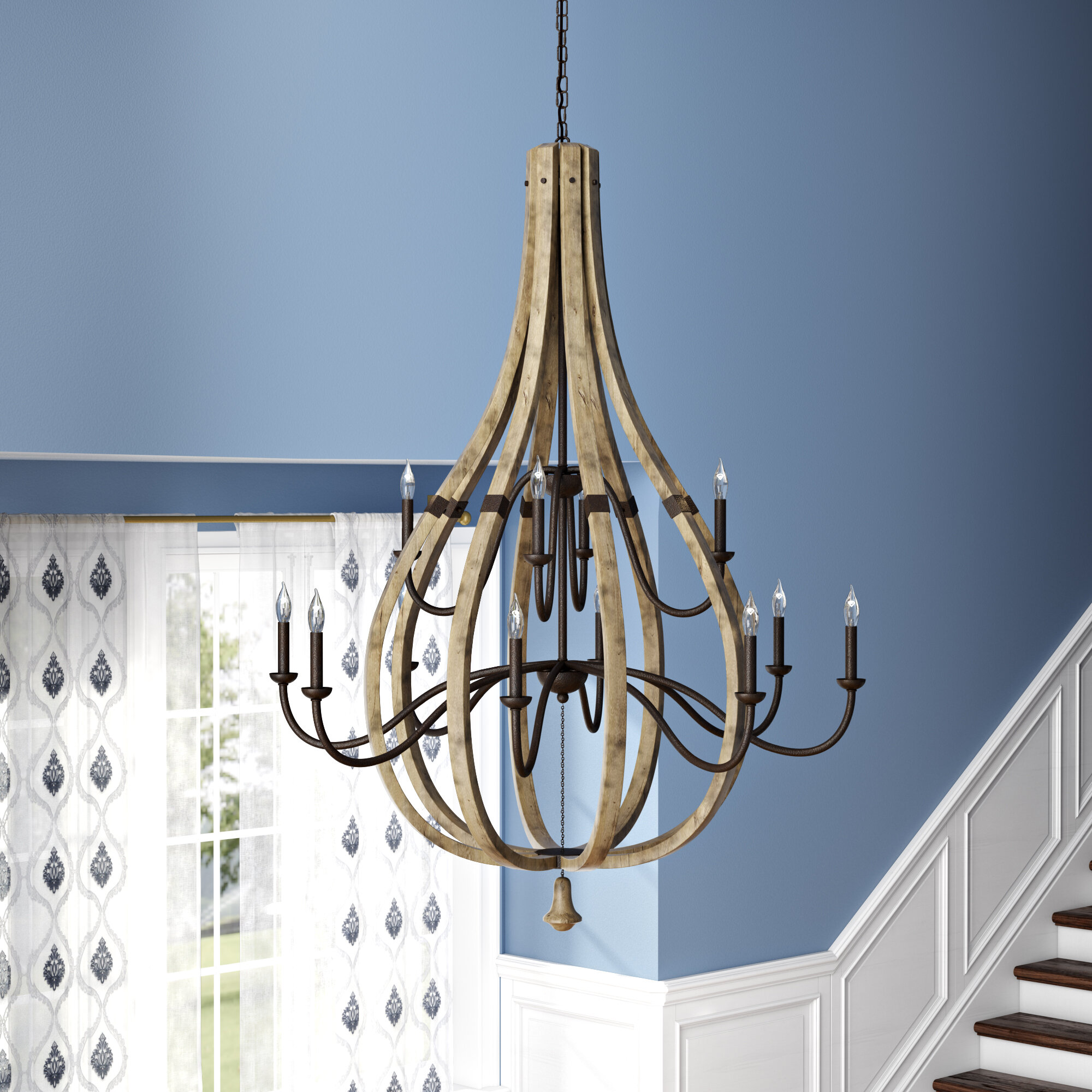 Hinkley lighting oceane 12 light chandelier wayfair