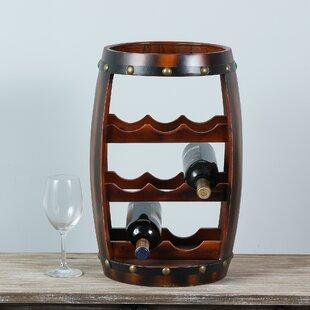 Dickinson 8 Bottle Floor Wine Rack