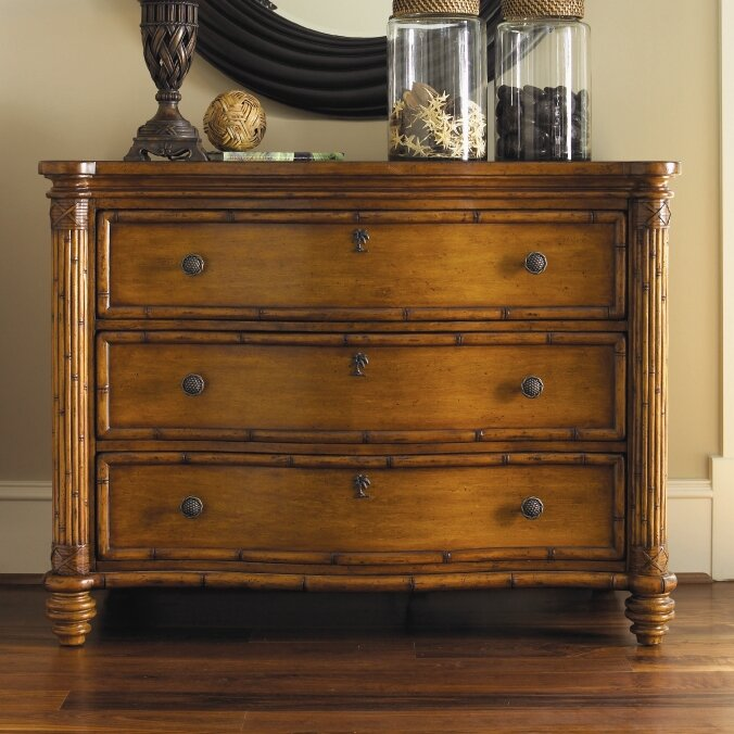 Tommy Bahama Home Island Estate 3 Drawer Dresser Reviews Wayfair