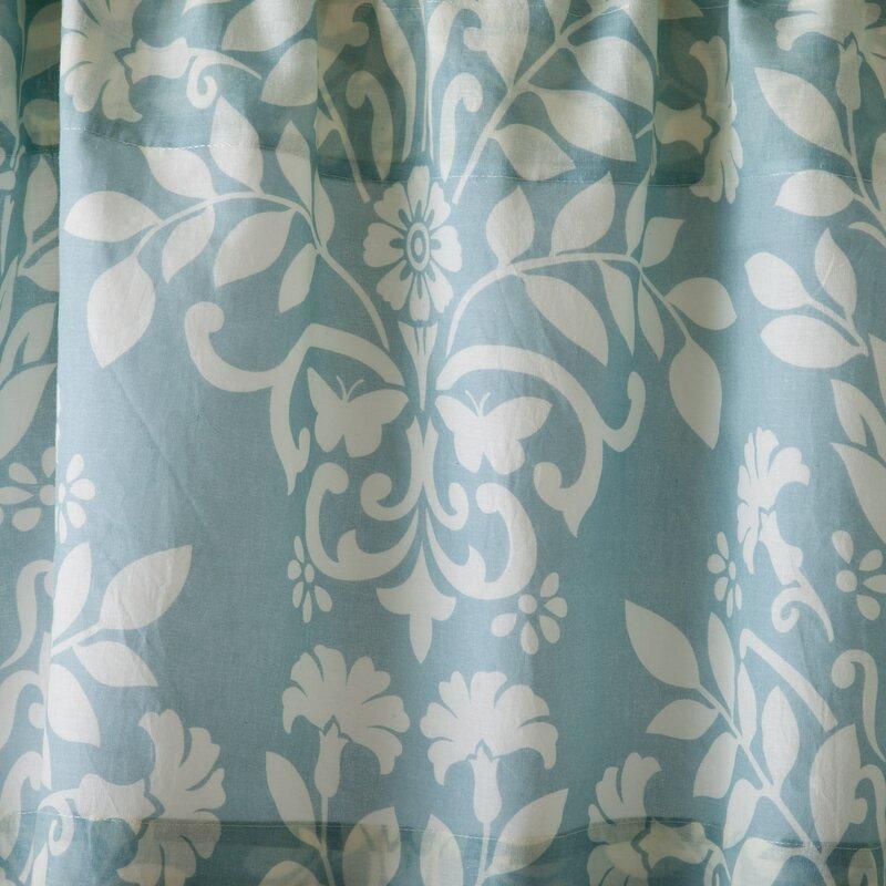 "Laura Ashley Home Rowland 86"" Curtain Valance & Reviews"