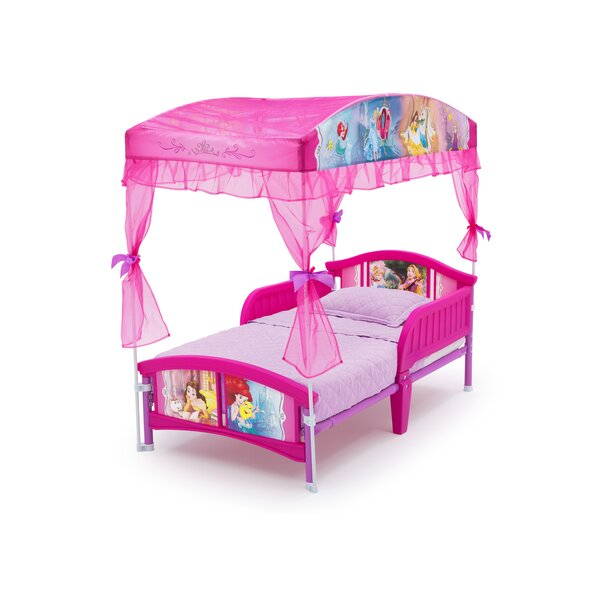 wayfair toddler bed delta children disney princess toddler canopy bed 13802