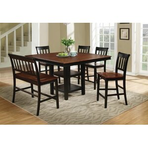 Cunningham 6 Piece Pub Table Set by Darby Home Co