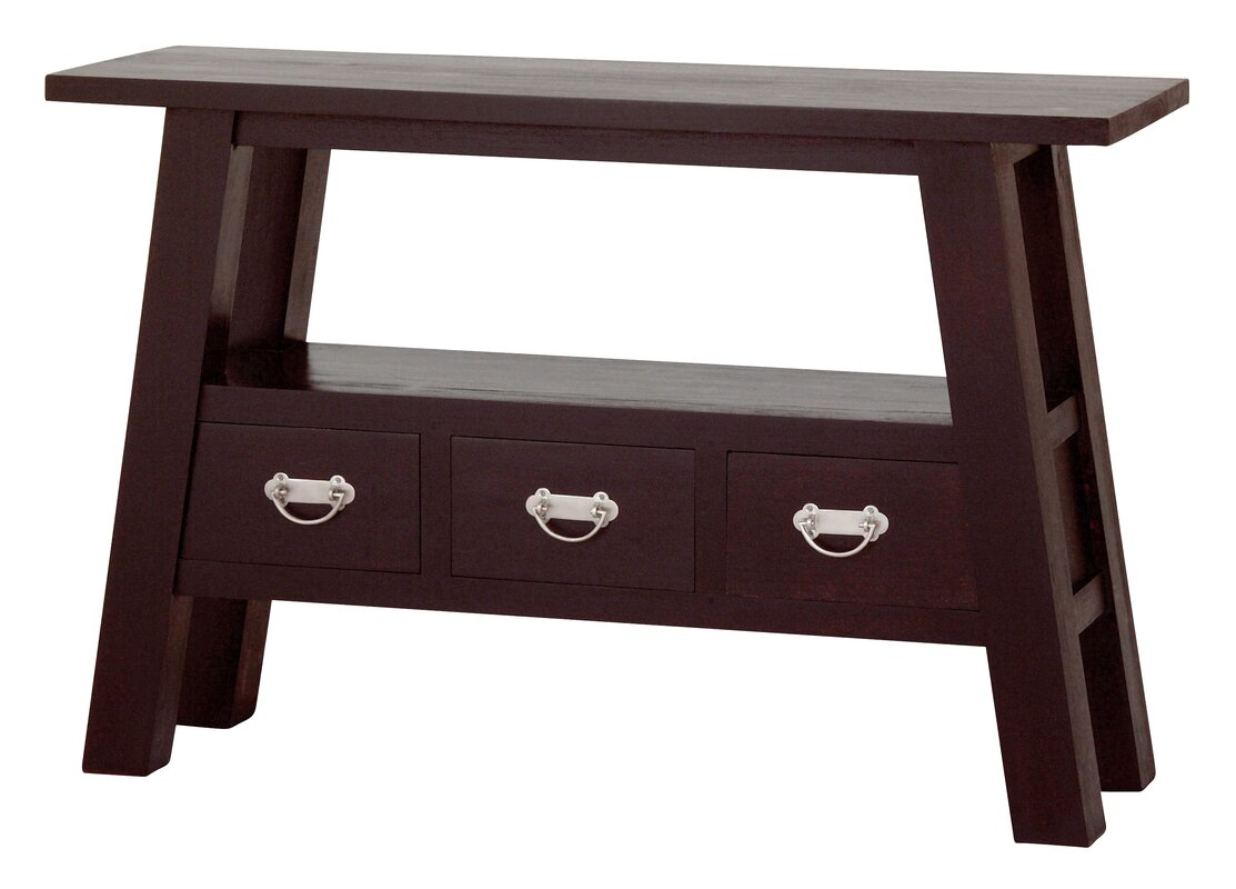 NES Furniture Japanese Fine Handcrafted Console Table Reviews