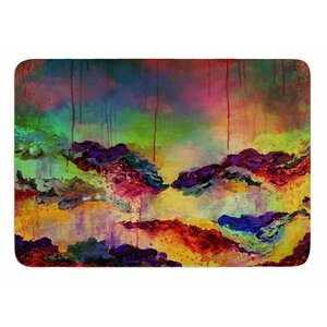 It's a Rose Colored Life 4 by Ebi Emporium Memory Foam Bath Mat