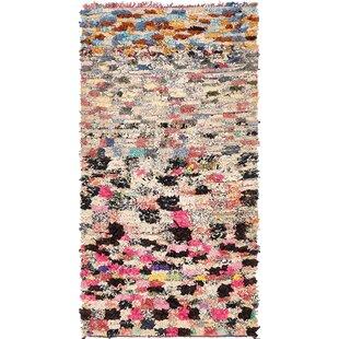 hot pink and black area rug wayfair
