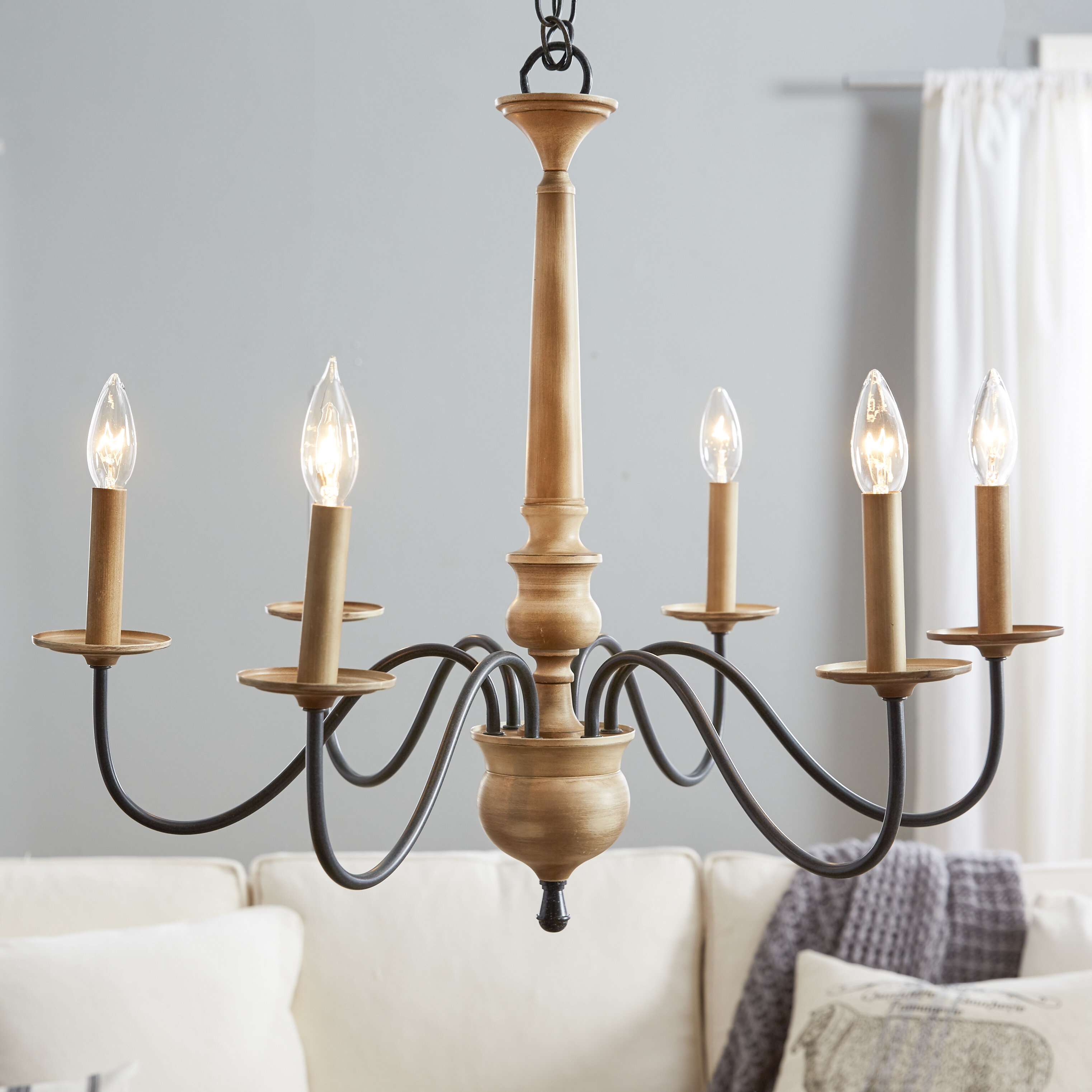 Edson 6 Light Candle Style Chandelier & Reviews