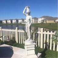 Dione, the Divine Water Goddess Garden Statue