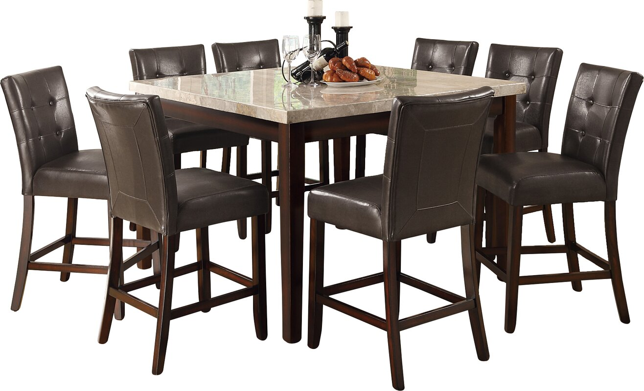 Alcott Hill Cincinnati Counter Height Dining Table Reviews