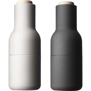 Small Bottle Salt And Pepper Shaker Set Of 2