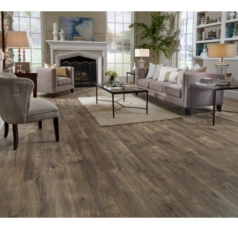 Mannington Restoration Wide Plank 8 X 51 X 12mm Hickory Laminate