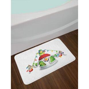 Snowman Bath Rug