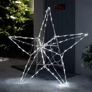 Pre-Lit Animated Multi-Function 3D Star Lighted Display