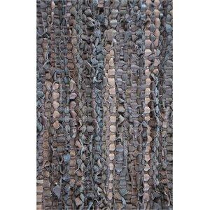 Brown Flatweave Area Rug