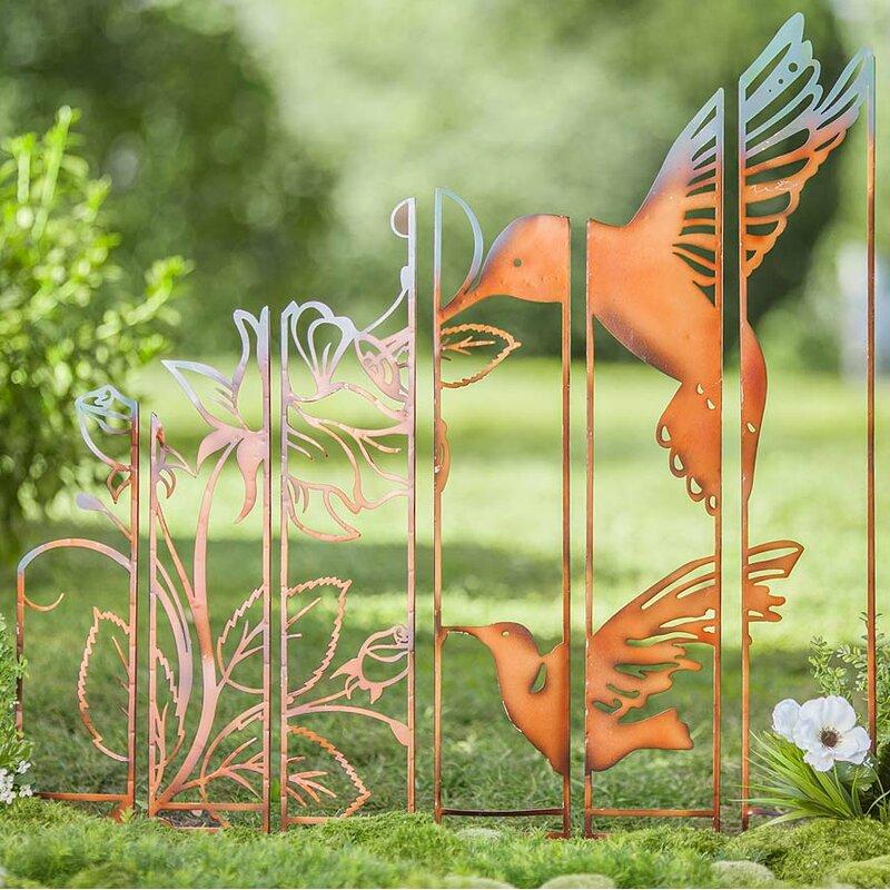 Metal Hummingbird Garden Stake   Joss & Main