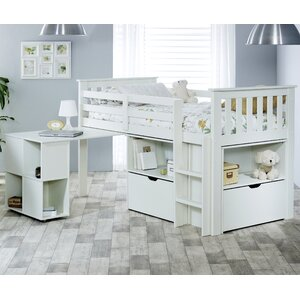 Milo Mid Sleeper Bed with Drawer