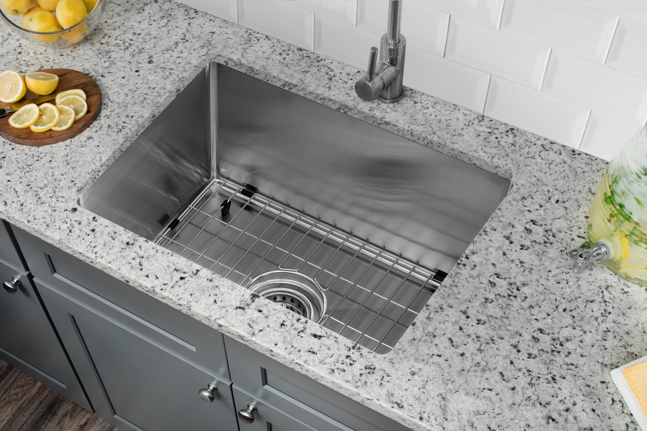 Soleil Radius 16 Gauge Stainless Steel 15'' x 20'' Single Bowl ... on granite kitchen sink ideas, solid surface kitchen sink ideas, bathroom accessories ideas, undermount kitchen sink brands, bathroom furniture ideas, white kitchen sink ideas, bathroom vanity ideas, contemporary bathroom ideas, shower ideas, bathroom set ideas, freestanding kitchen sink ideas, home ideas, bathroom lighting ideas, stainless kitchen sink ideas, bathroom makeover ideas, farmhouse kitchen sink ideas, undermount kitchen sink support, corner kitchen sink ideas,