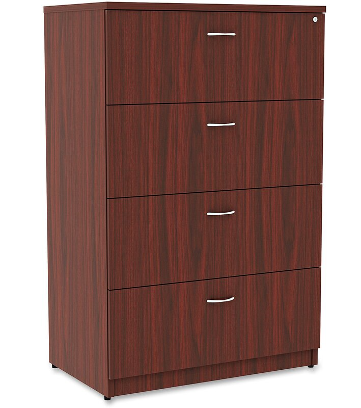 Exceptional Essentials 4 Drawer Lateral Filing Cabinet