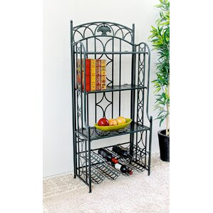 Abbottsmoor 5-Tier Iron Indoor/Outdoor Ba..