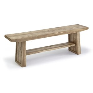 Pauli Wood Bench by Laurel Foundry Modern..