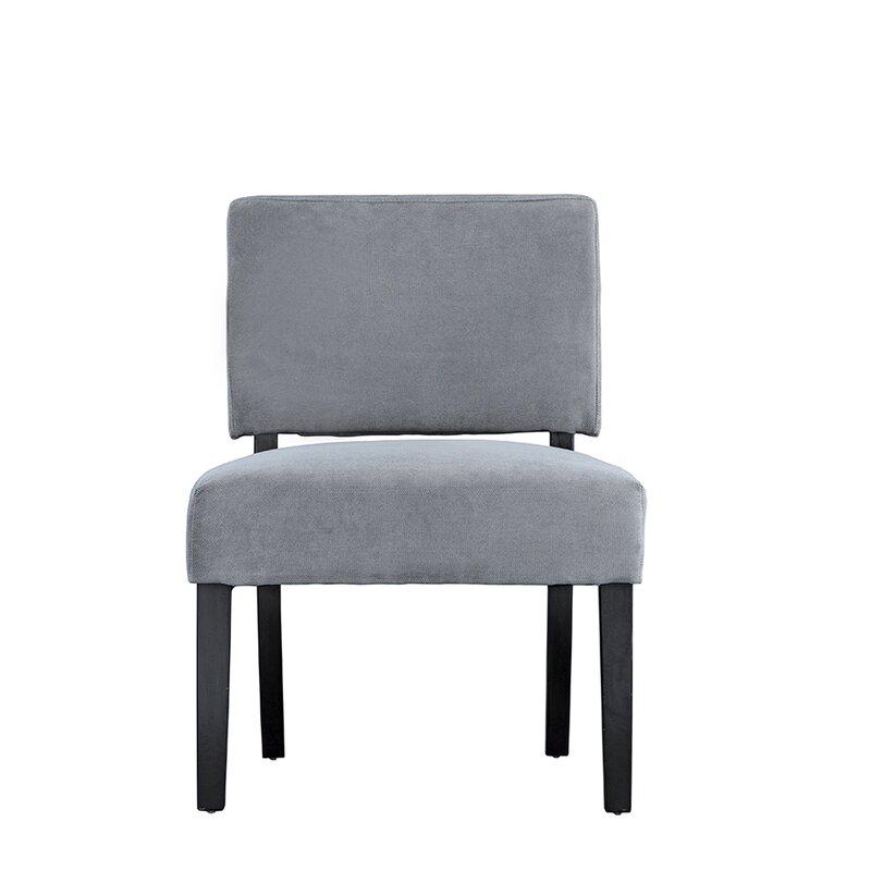 Branchdale Contemporary Sleek Linen Side Chair