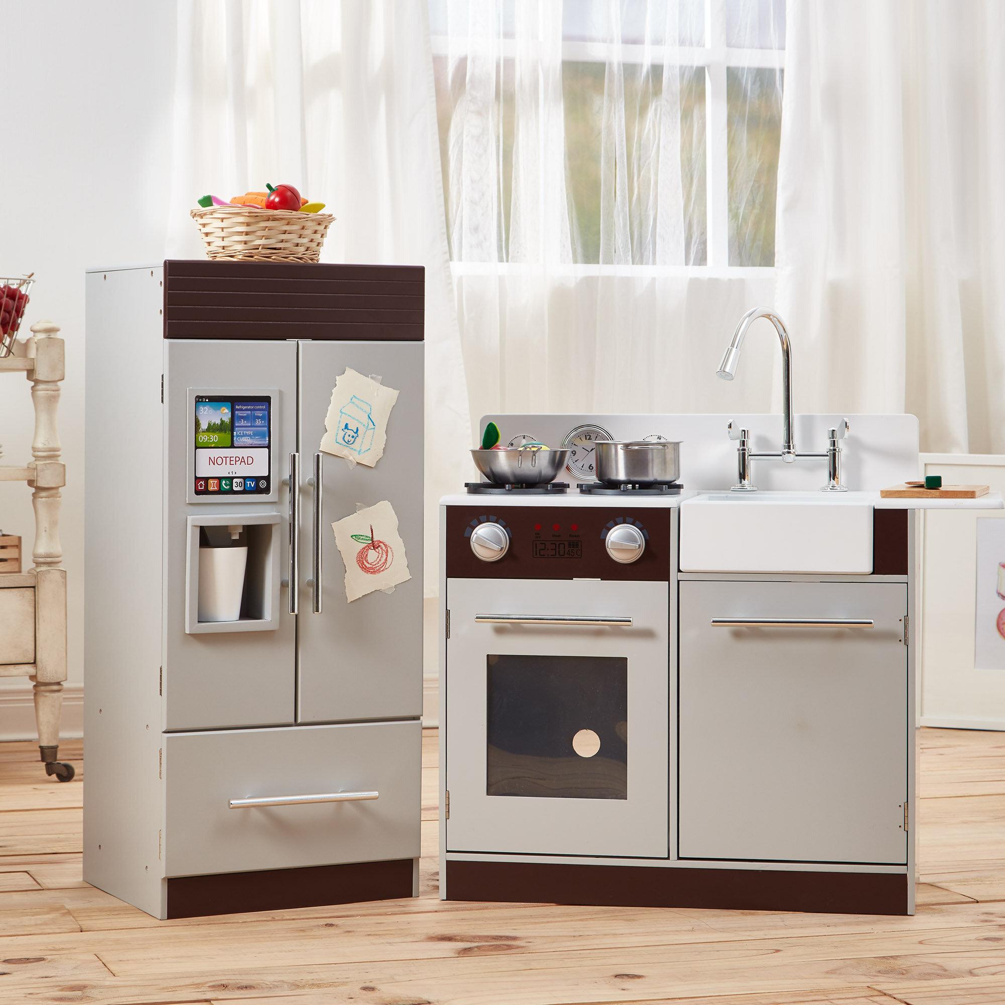Teamson Kids 2 Piece Urban Adventure Play Kitchen Set Reviews
