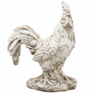High Quality Old Age Look Rooster Statue
