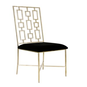 Upholstered Dining Chair by Worlds Away