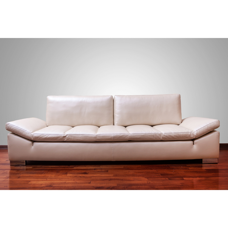 Strange Zoila Top Grain Leather Sofa Inzonedesignstudio Interior Chair Design Inzonedesignstudiocom