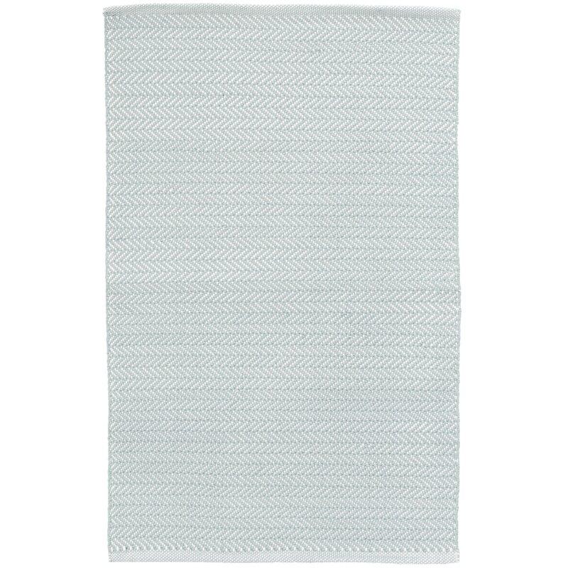 Herringbone Light Blue Rug: Dash And Albert Rugs Herringbone Blue/White Indoor/Outdoor