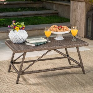 Fernald Outdoor Coffee Table by Varick Gallery