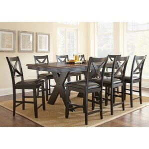 Amsterdam 9 Piece Counter Height Dining S..