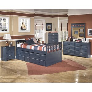 cole twin slat bedroom set