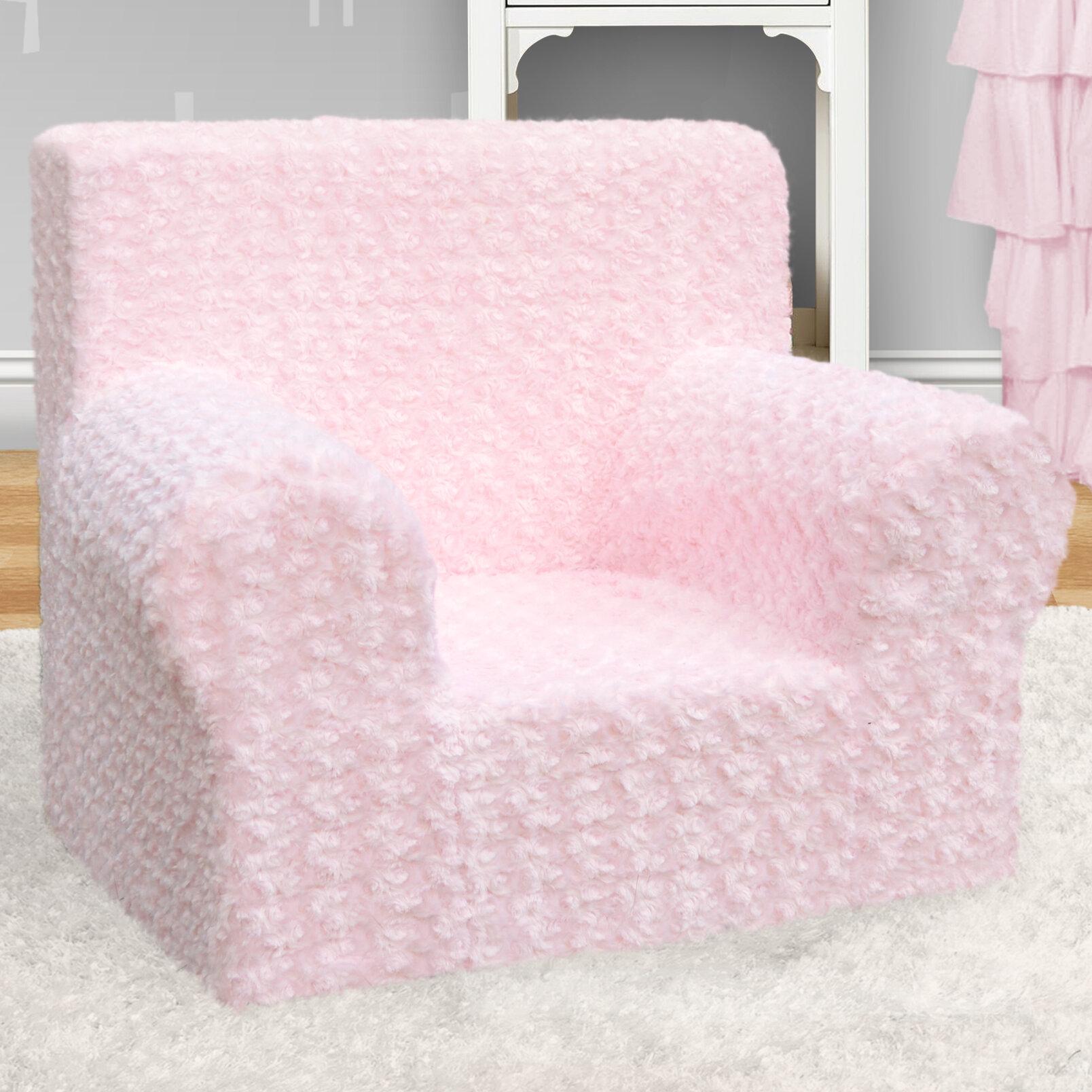 Superbe Kangaroo Trading Company Weston Rose Cuddle Grab N Go Kids Foam Chair |  Wayfair