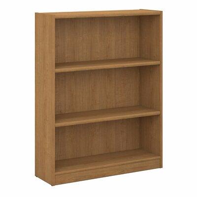 Ebern Designs Kirkbride Standard Bookcase Finish: Snow Maple